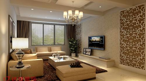 袍江陶然公寓客厅
